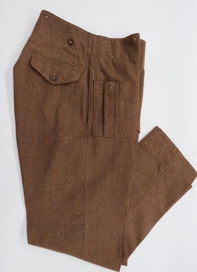 1940 Pattern British Battle Dress Trousers