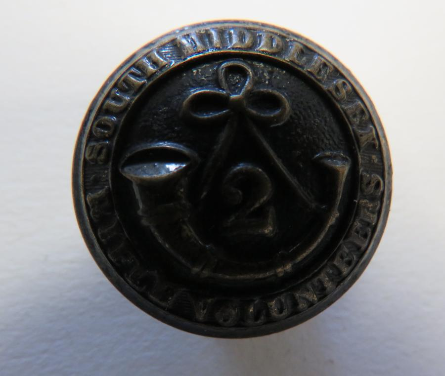 2nd South Middlesex Rifle Volunteers Button