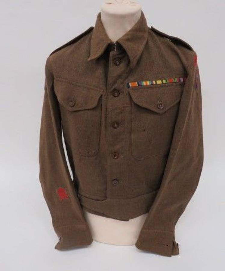 21st Army Royal Engineers Officers Battledress Jacket