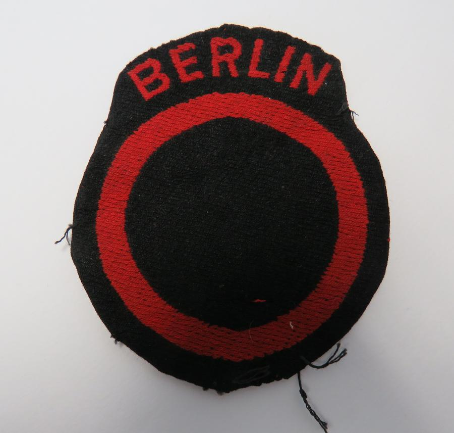 Berlin Troops Formation Badge
