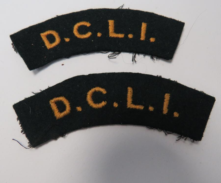 Pair D.C.L.I Shoulder Titles