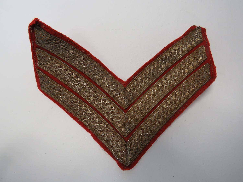 Full Dress Sergeant Stripes