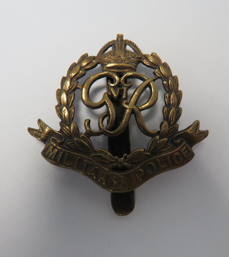 Military Police Cap Badge