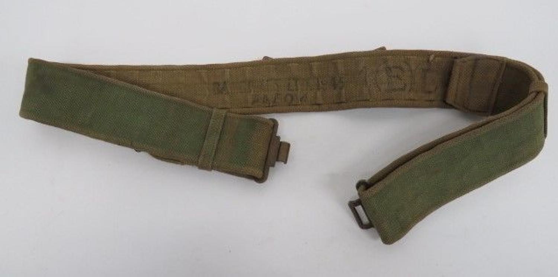 1937 Pattern Indian Manufacture Webbing Belt