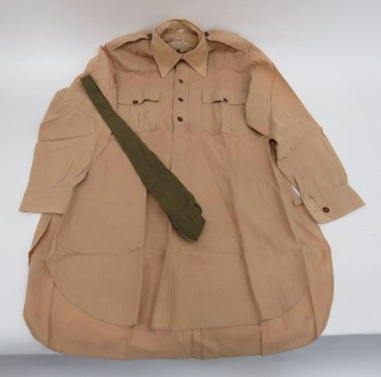 Interwar Officers Shirt and Tie