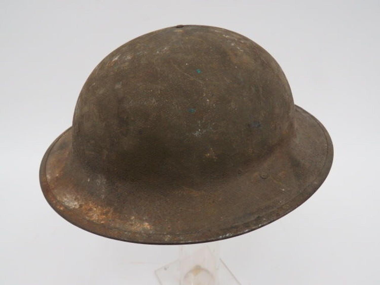 WW 1 American Brodie Pattern Steel Helmet