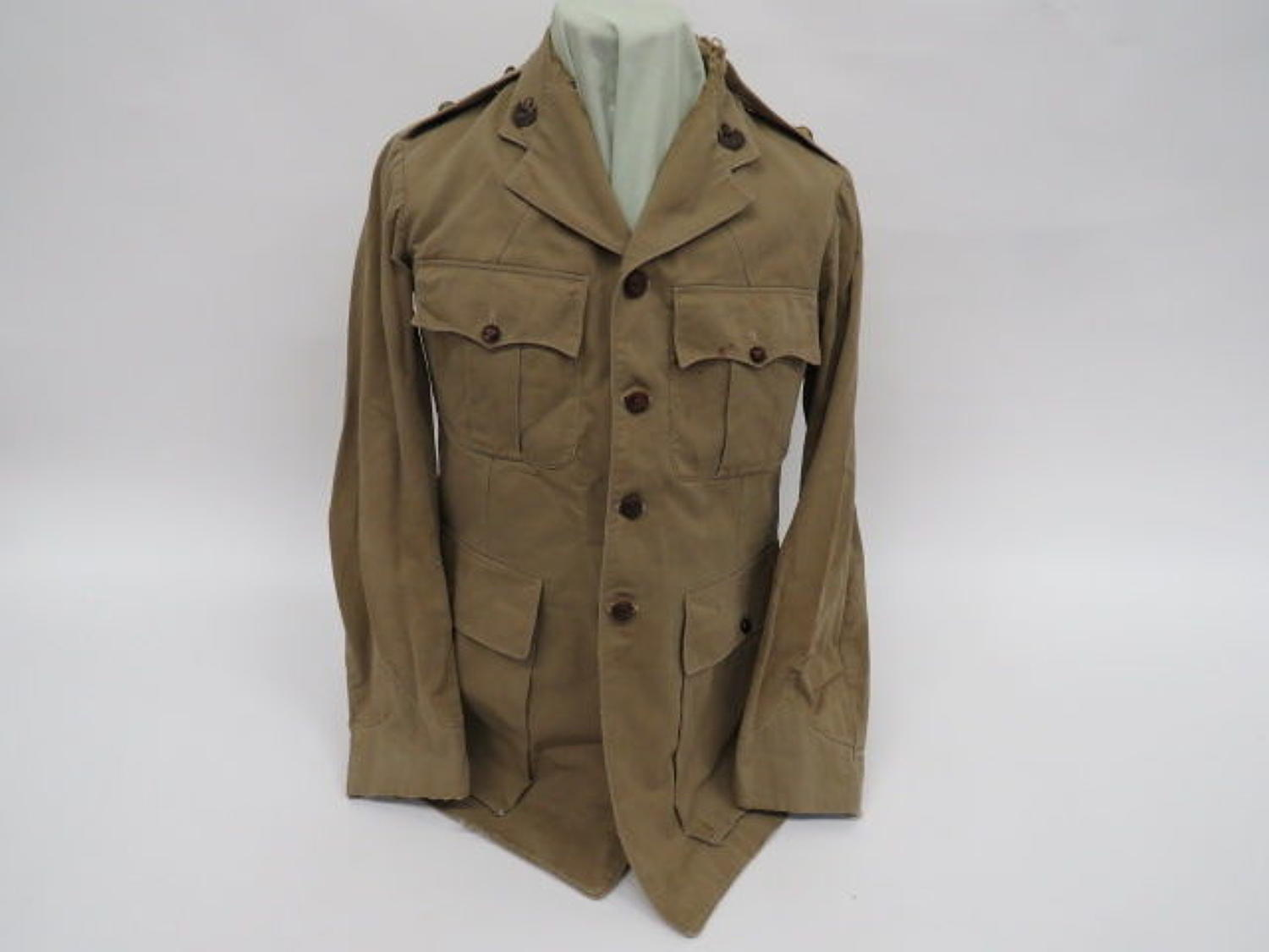 Cheshire Regiment Officer Tropical Tunic