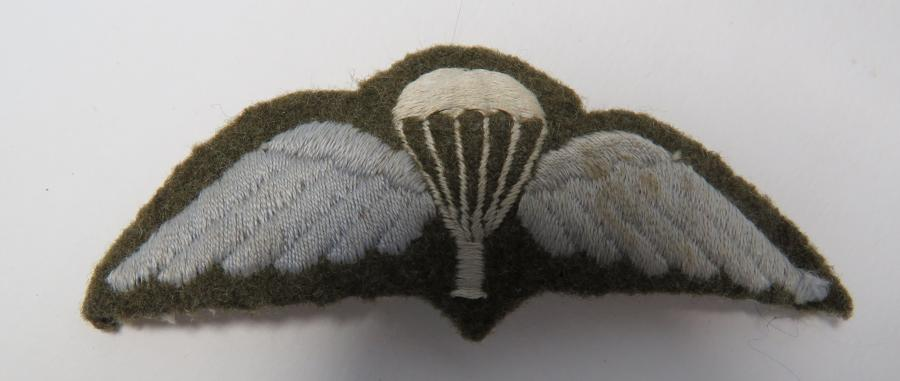 Post War Parachute Qualification Wing