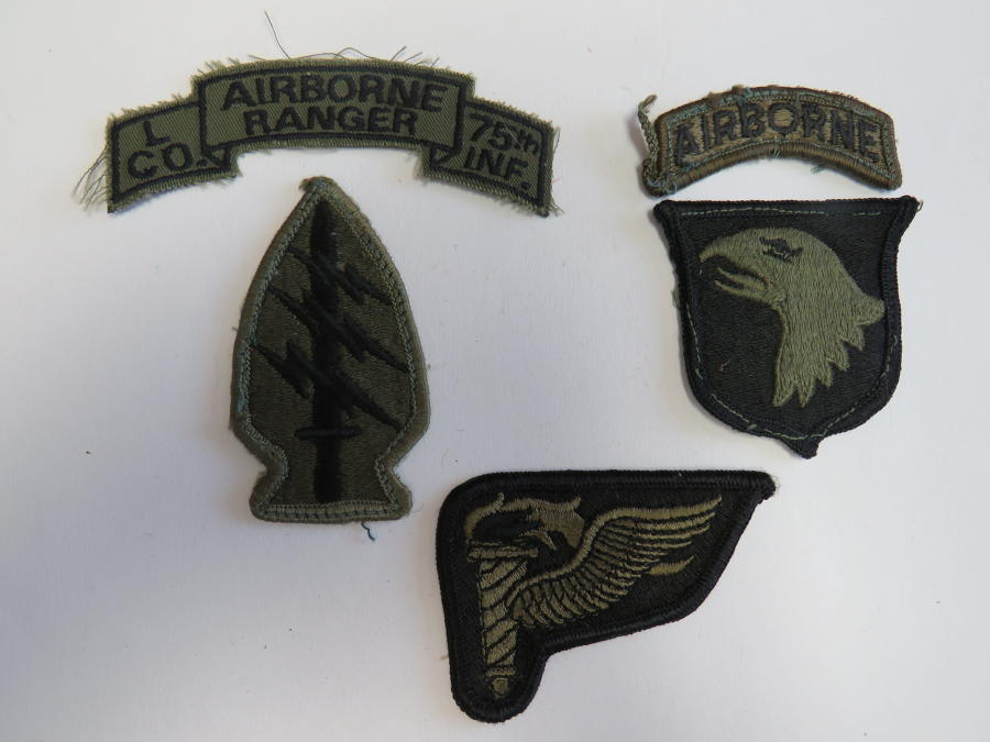 Selection of American Subdued Badges