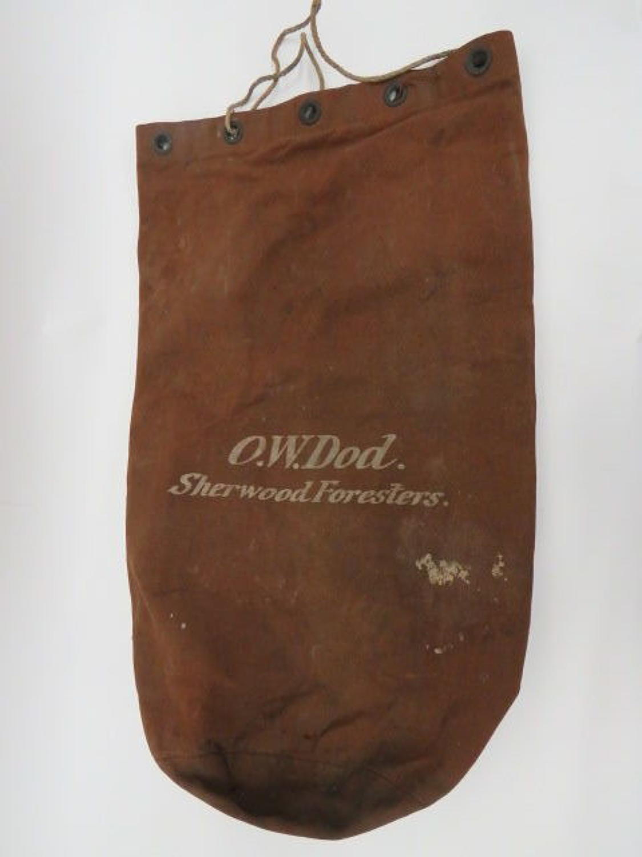 Boer War /WW 1 Officers Kit bag