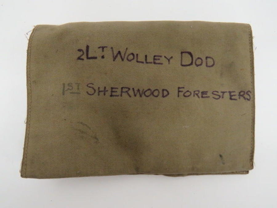WW 1 Officers Private Purchase Wallet