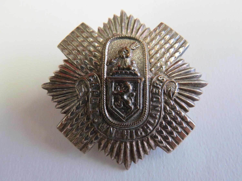 Cape Town Highlanders Cap Badge