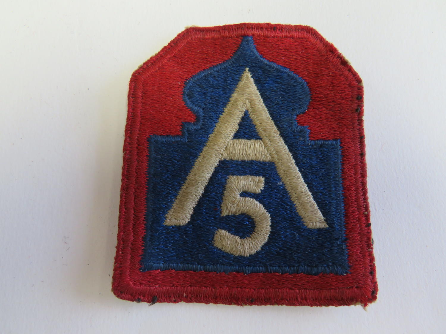 WW2 American 5th Army Formation Badge