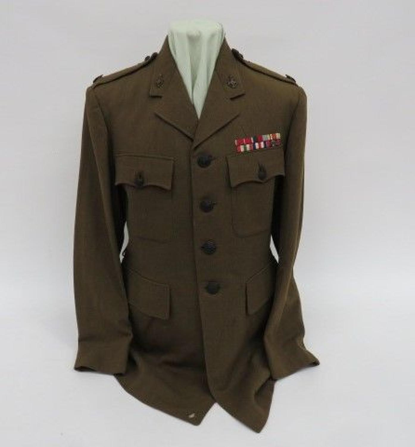 WW 2 Royal Army Chaplains Department Service Dress Tunic