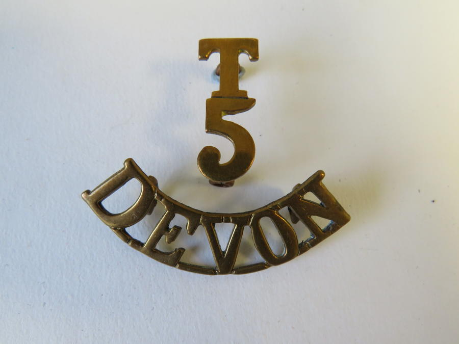 T5 Devon Shoulder Title