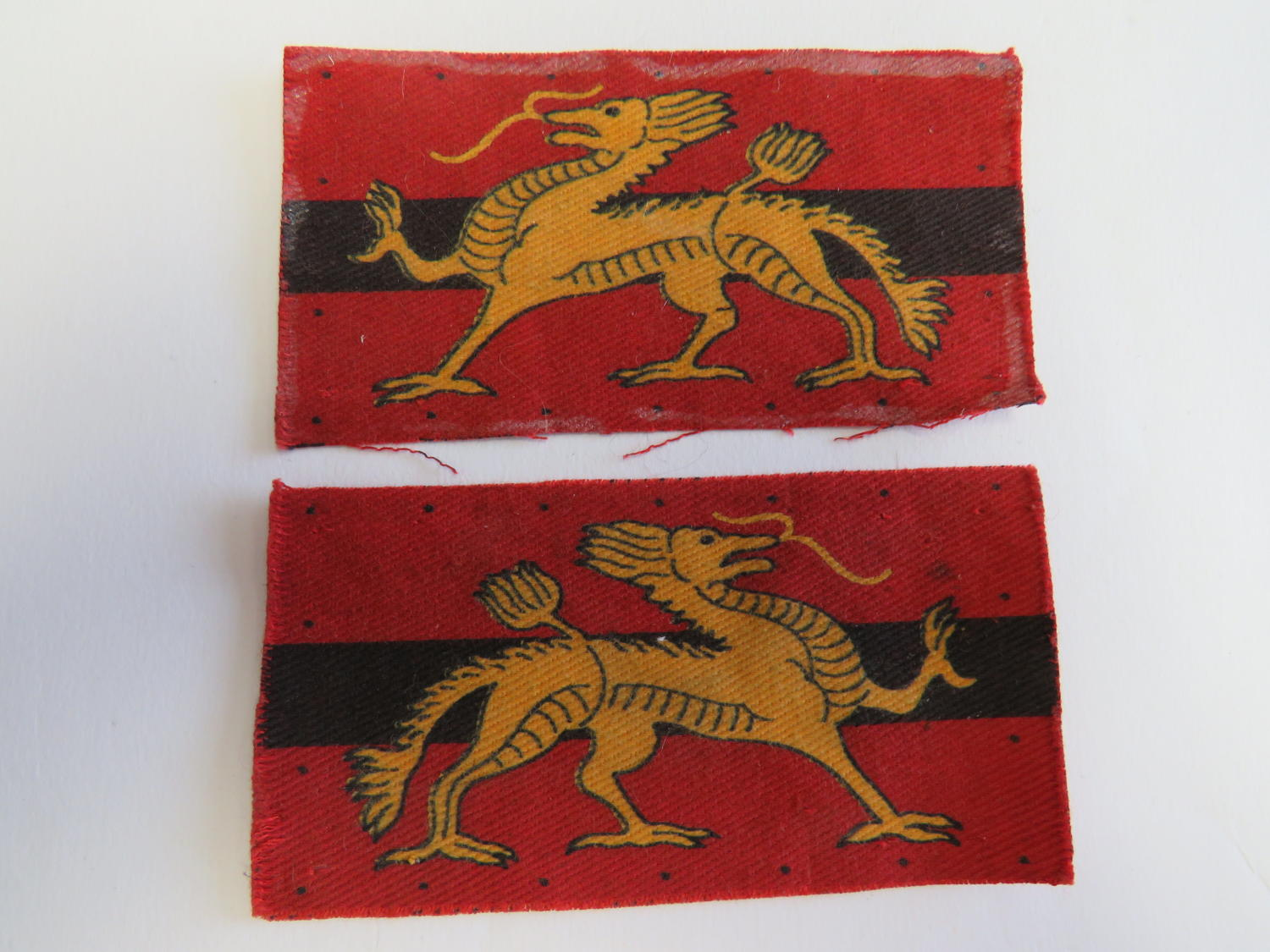 Pair of Land Forces Hong Kong Formation Badges