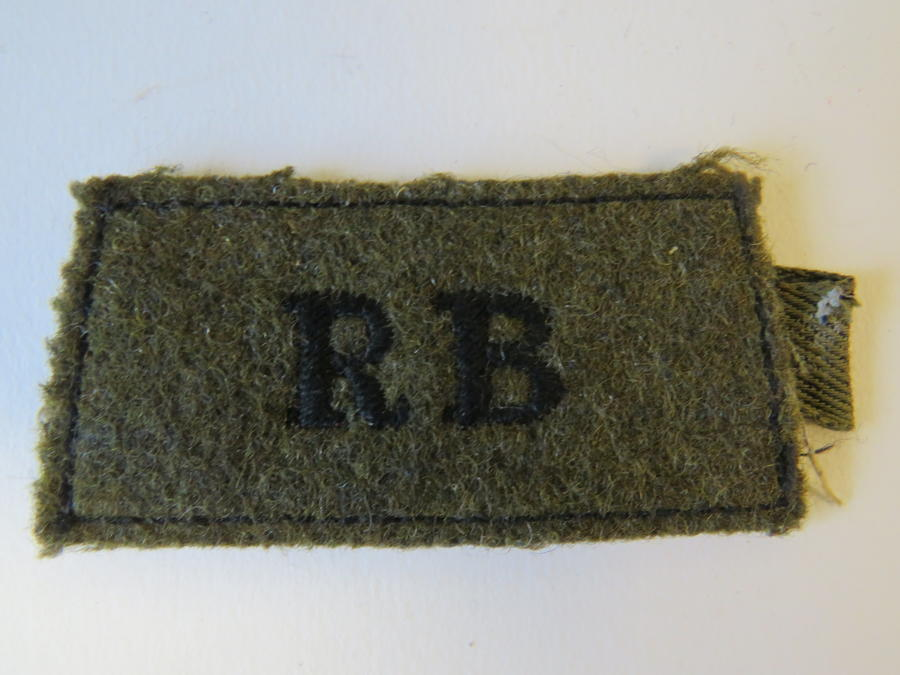 Rifle Brigade Slip on title