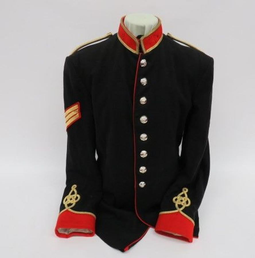 Current Royal Artillery Band Full Dress Tunic