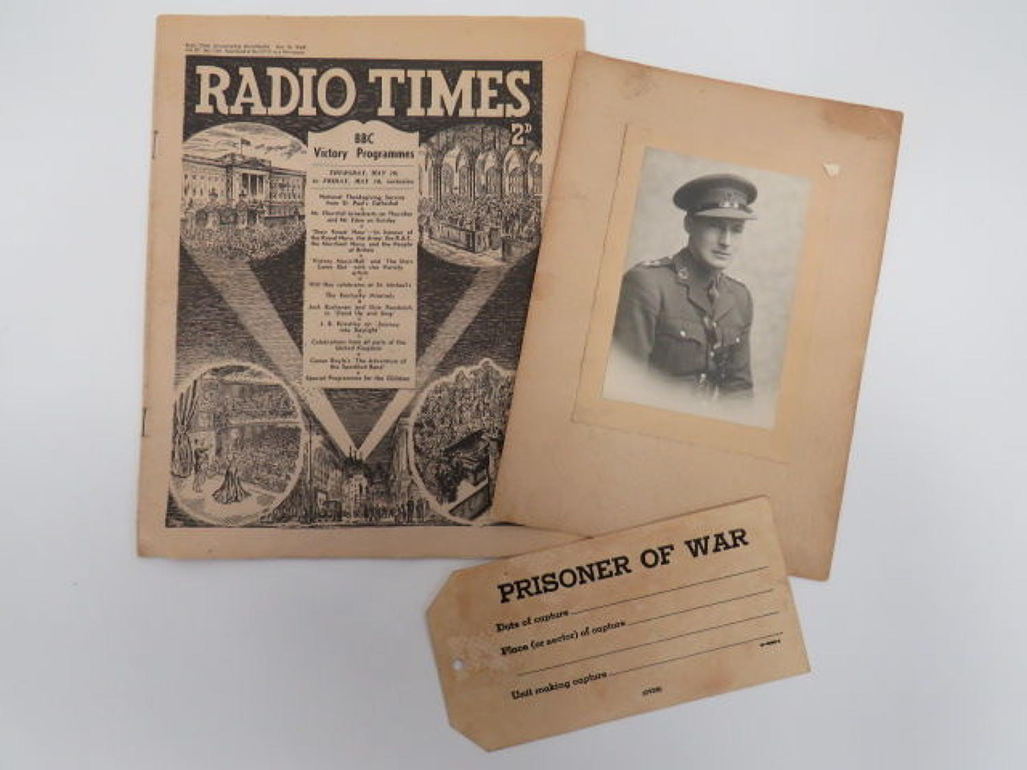 Selection of 1945 Paperwork