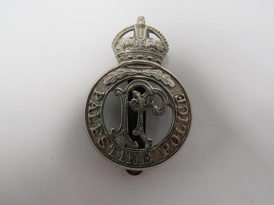 Palestine Police Cap Badge