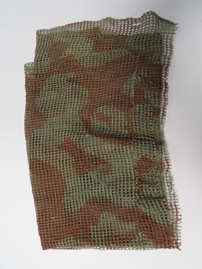 WW 2 British Camouflaged Netting Commando Scarf