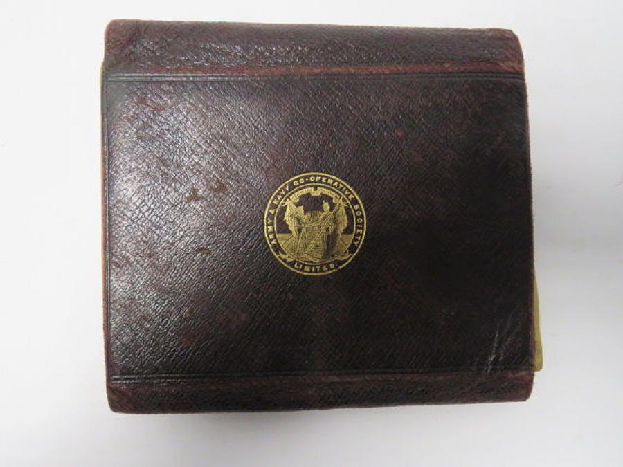 Boer War / WW 1 Officers Private Purchase Wallet