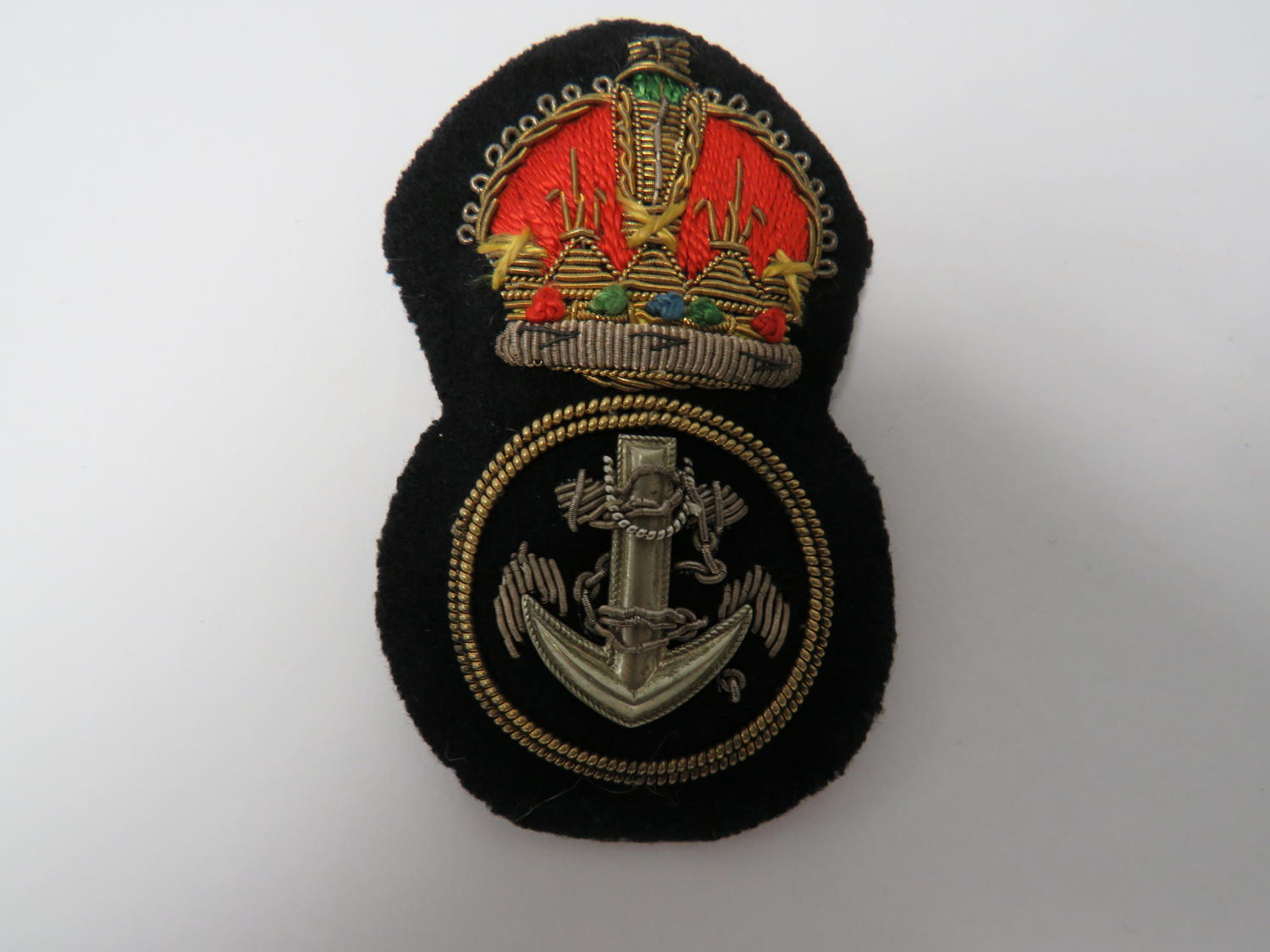 Pre 1953 Royal Navy Petty Officers Cap Badge
