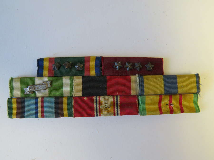 Post War American Medal Ribbon Bar