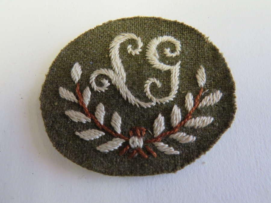Lewis Gunner Qualification Cuff Badge