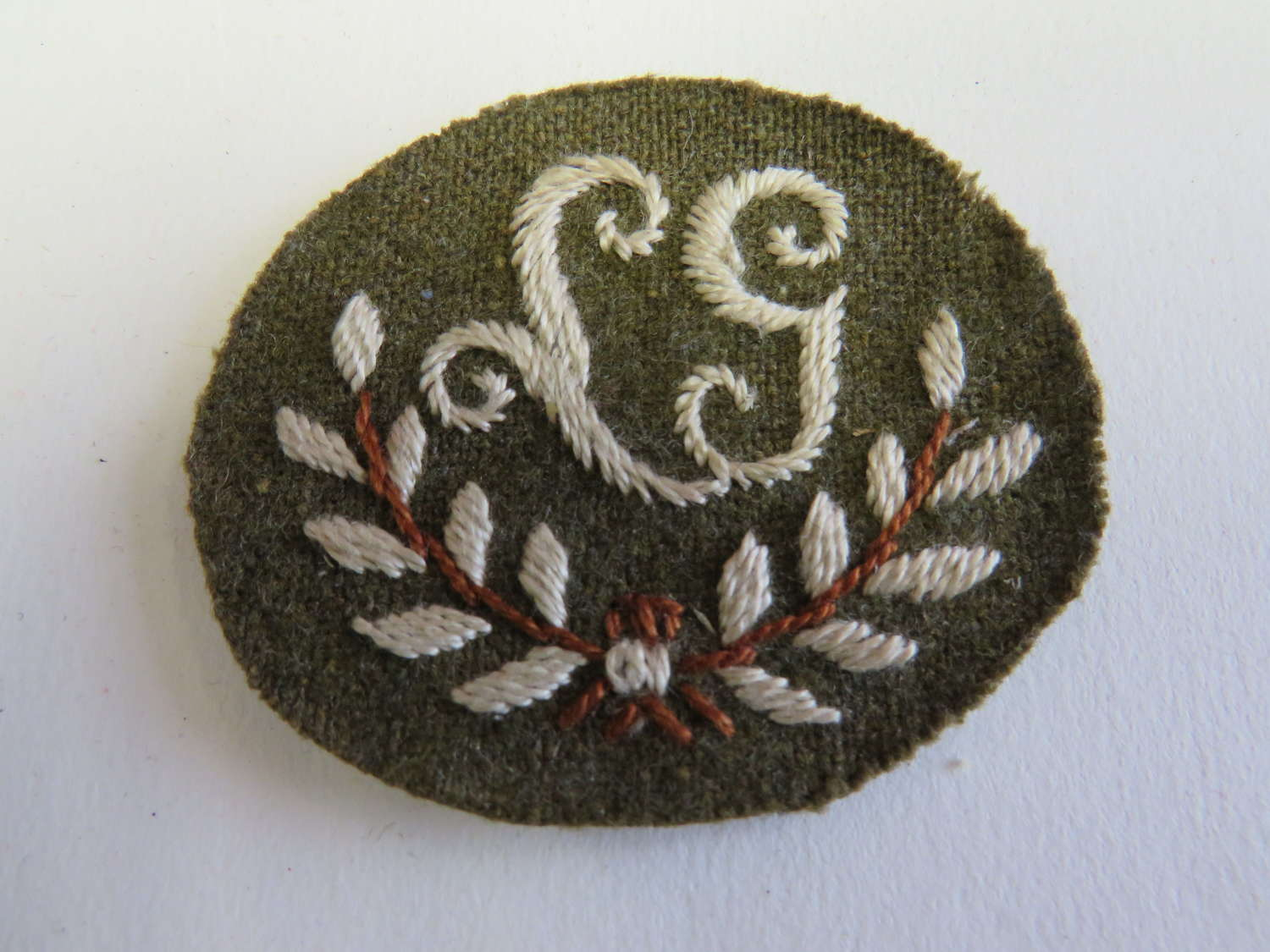 Lewis Gunner Qualification Cuff Badge