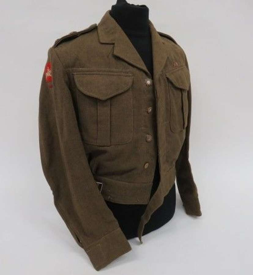 Royal Engineers 8th Corps Officer Battledress Jacket