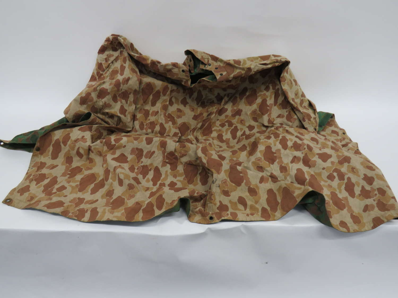 American USMC Camouflaged Poncho