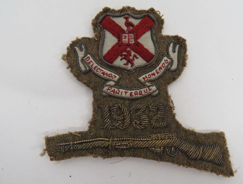 1932 O.T.C Marksman Badge