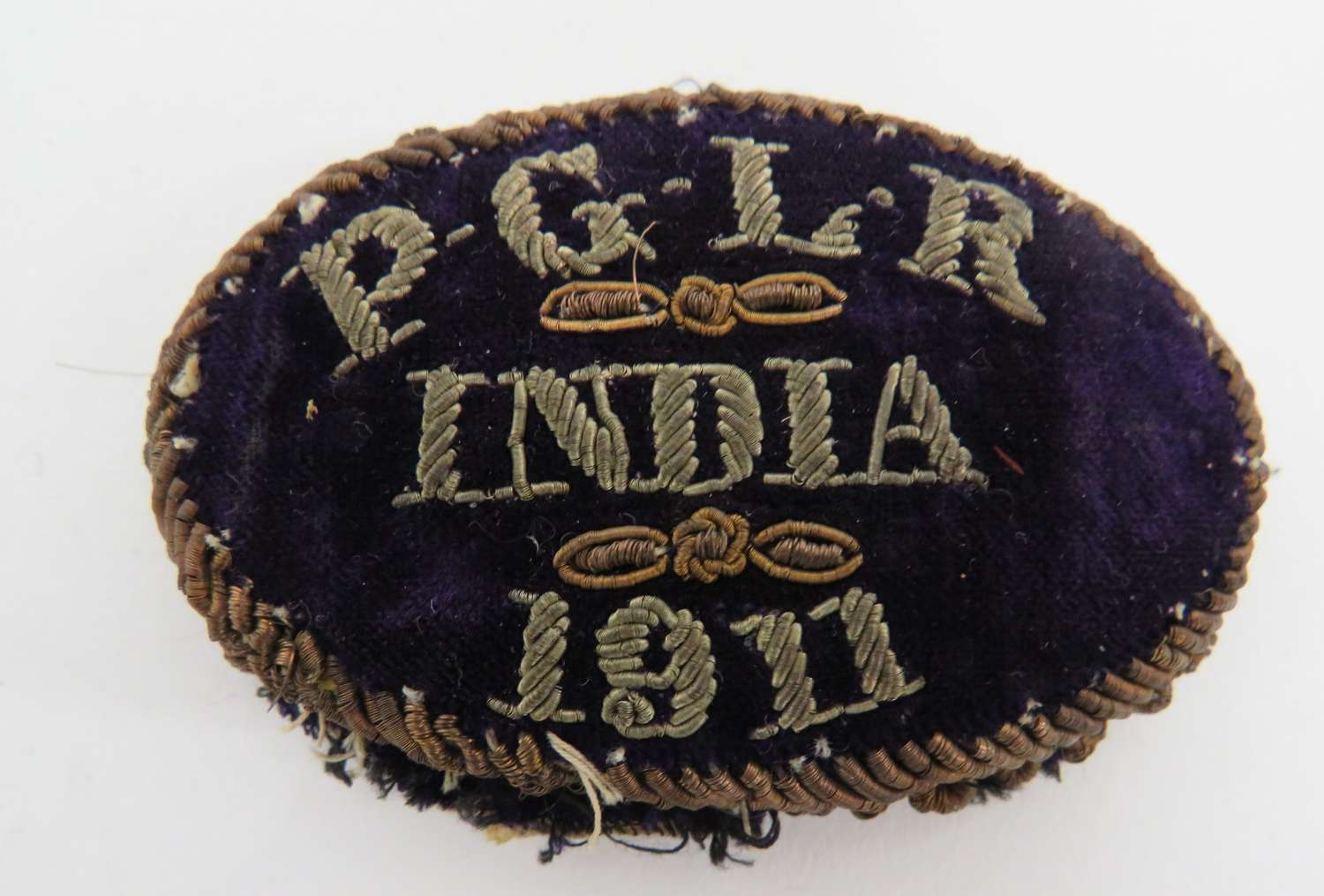 1911 India Bullion Badge