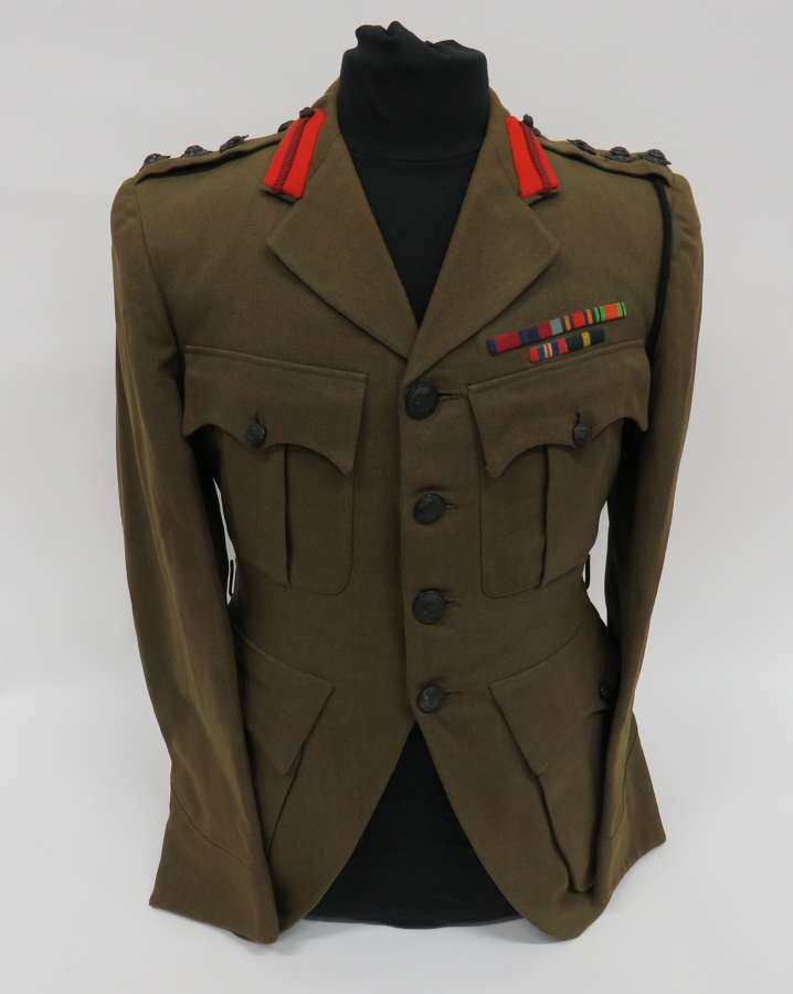 1940 Named Scottish Rifles Staff Officers Tunic