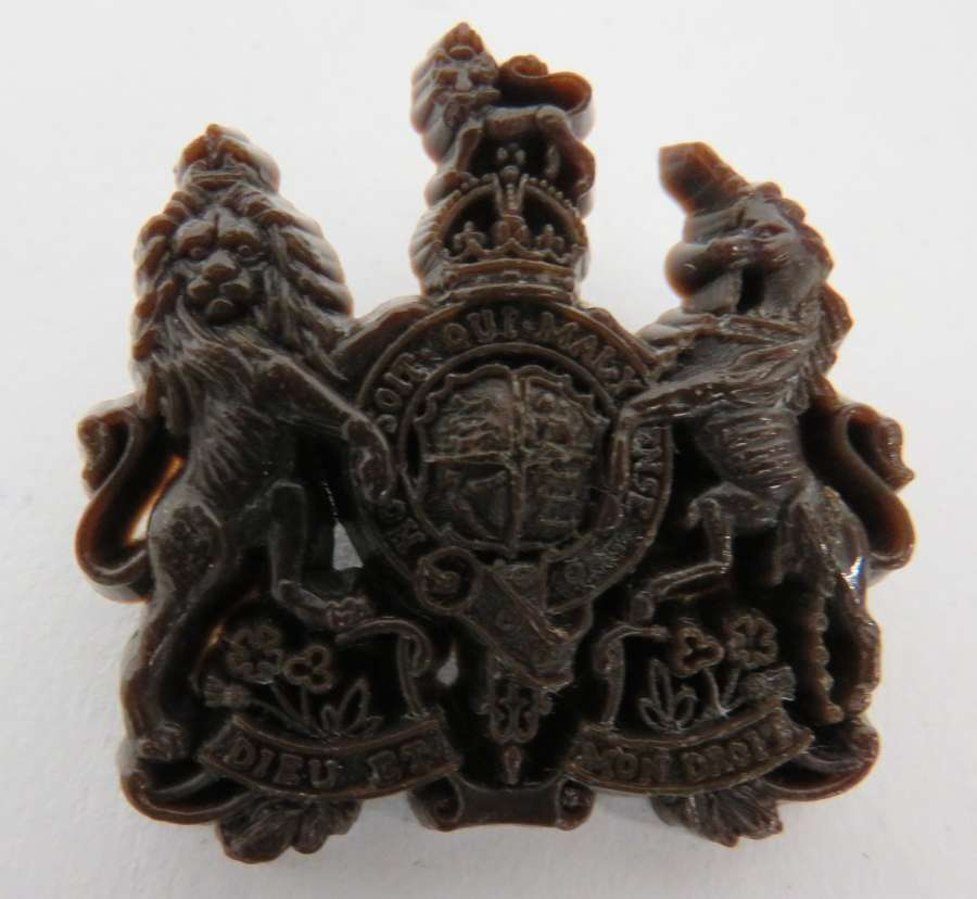 General List Plastic Economy Cap Badge