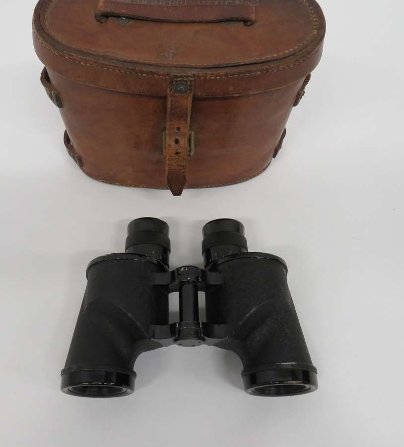 1944 Dated Canadian Issue Binoculars and Leather Case