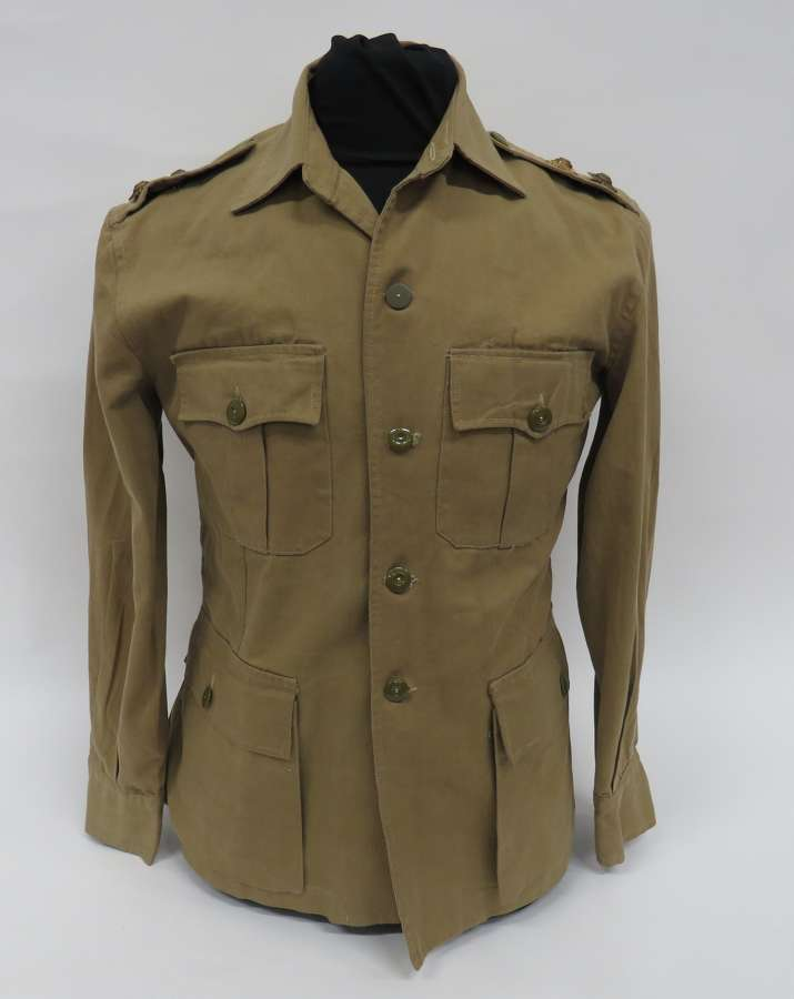 WW 2 British Officers Tropical Bush Jacket