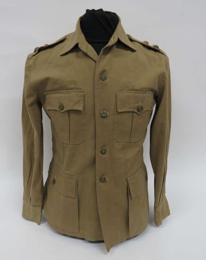 WW 2 British Officers Tropical Bush Jacket