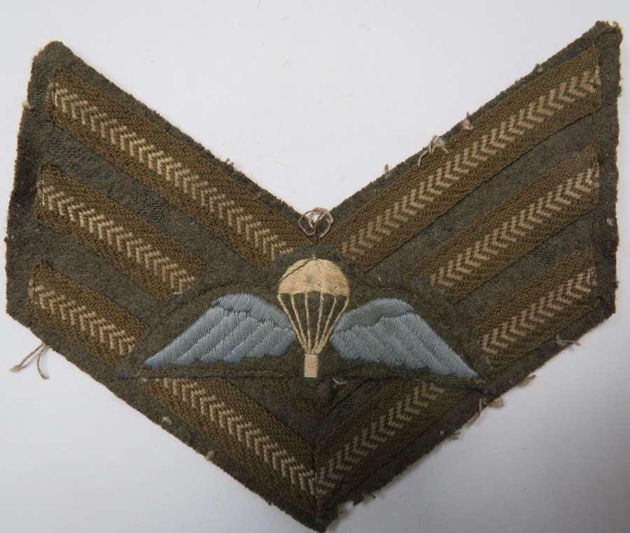 Parachute Regiment Sergeants Jump Wings