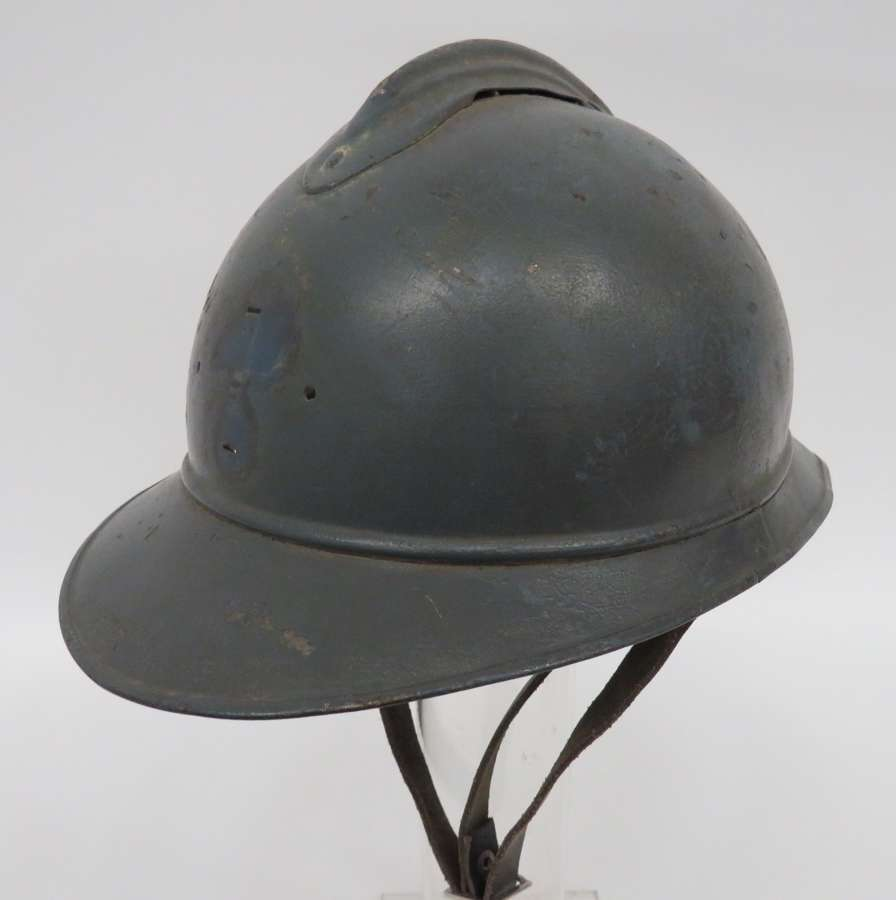 WW 1 French Adrian Pattern Steel Helmet