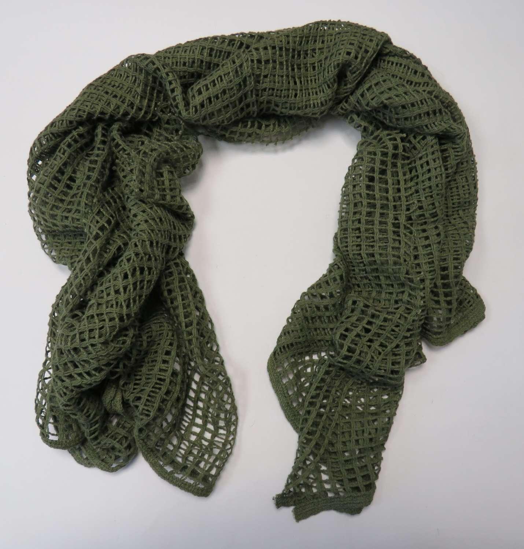 WW 2 Army Scrim Netting Scarf