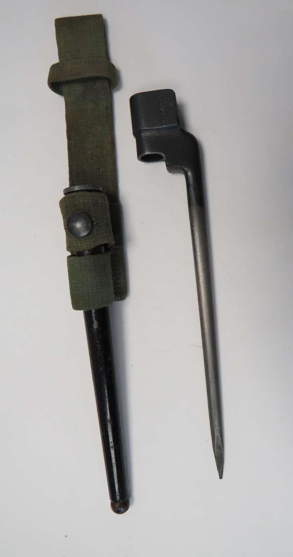 No 4 Mk 2 Spike Bayonet in Tropical Frog