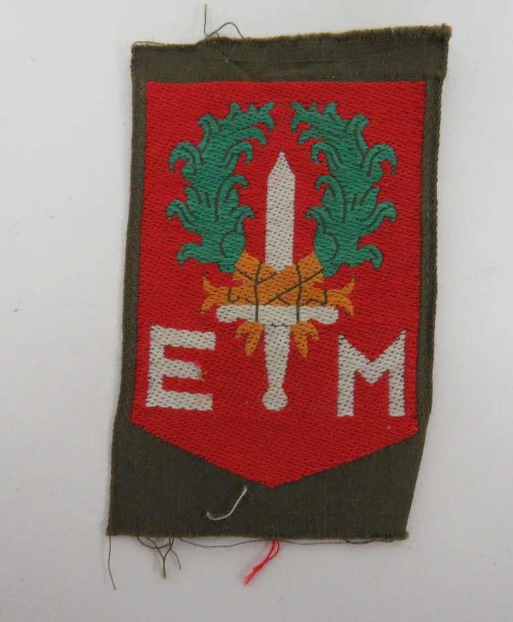 1st Netherlands Division Formation Badge