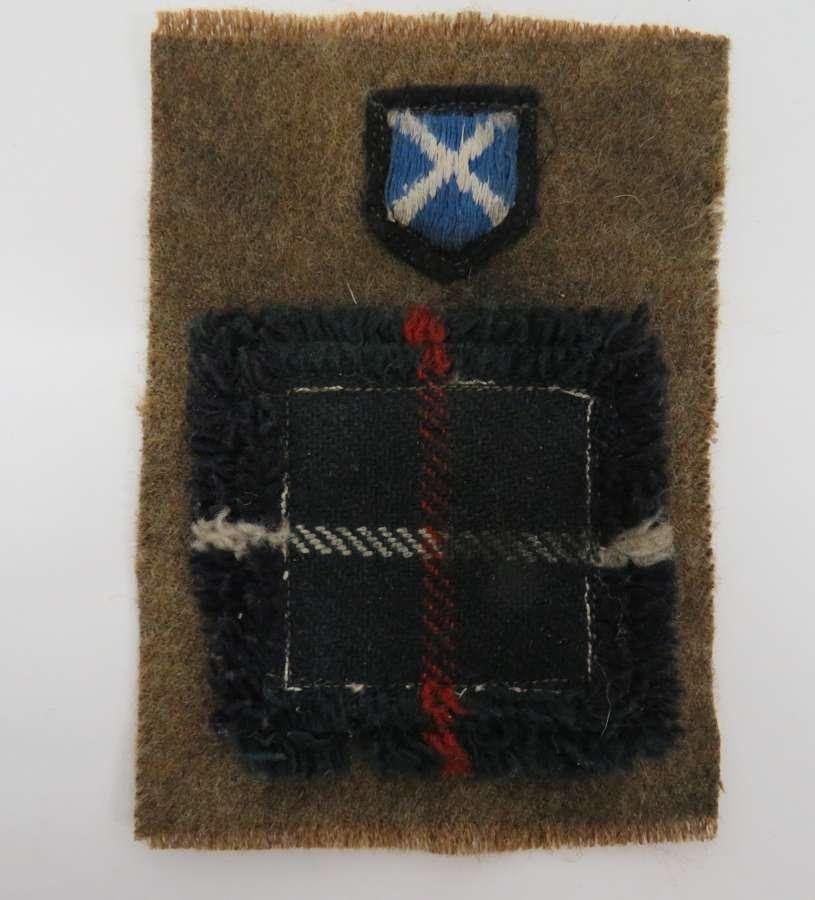 52nd Scottish Infantry Battle Badge