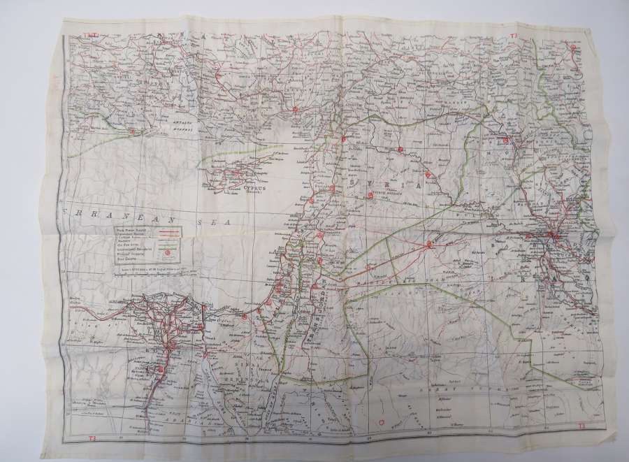 Suez Period Silk Escape Map