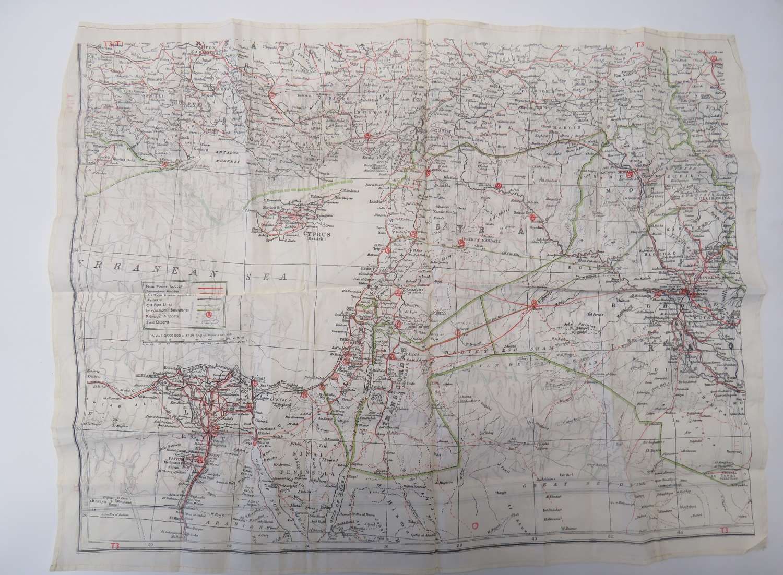 Suez Period Silk Escape Map