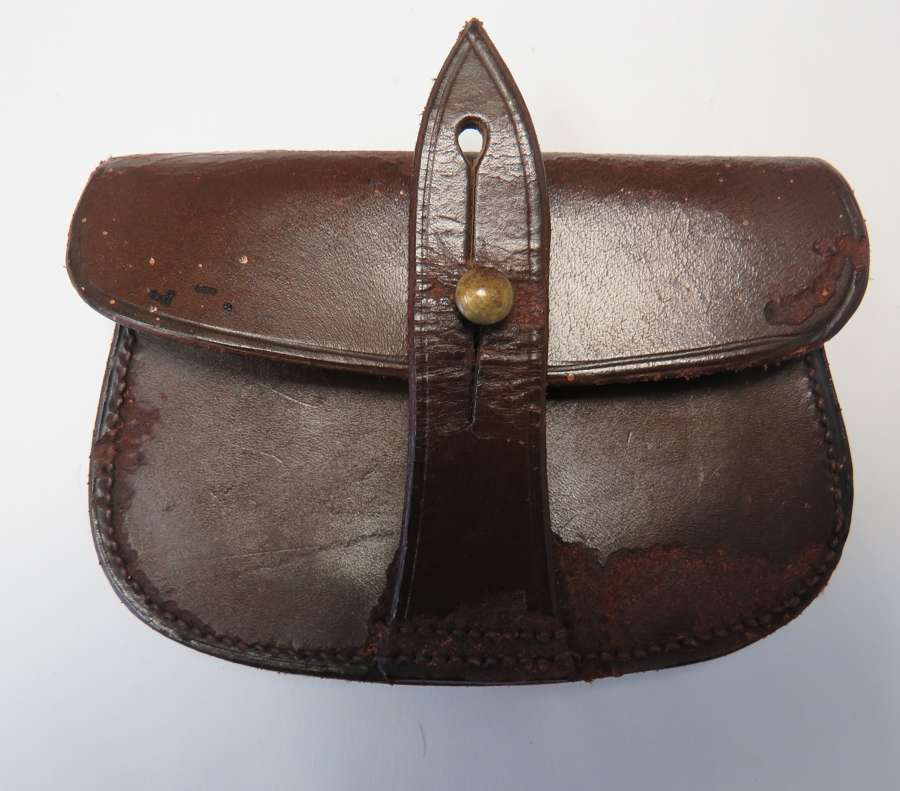 Officer Sam Browne Revolver Ammunition Pouch