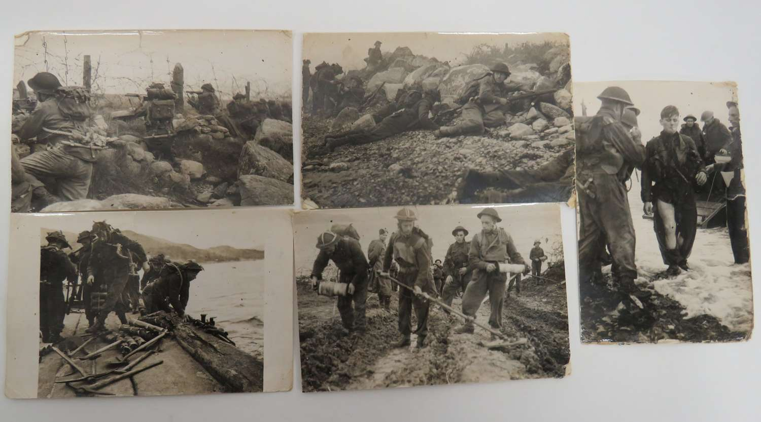 Good set of WW 2 Combat/Training Photographs