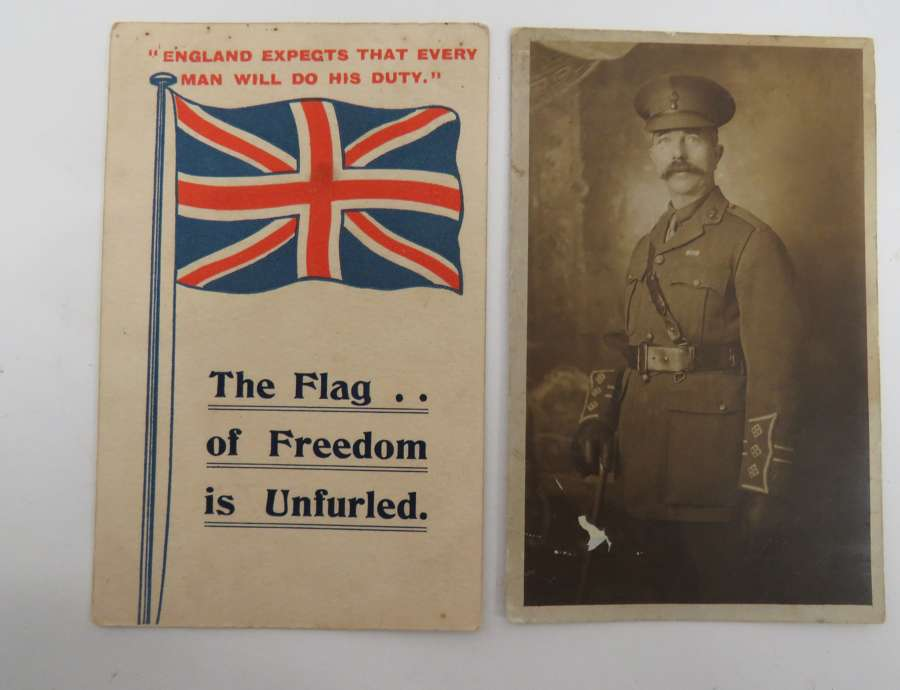 Two WW 1 Postcards